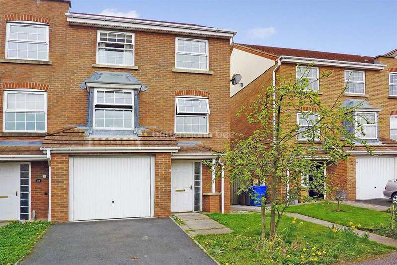 4 Bedrooms Terraced House for sale in Bullrushes Close, Etruria