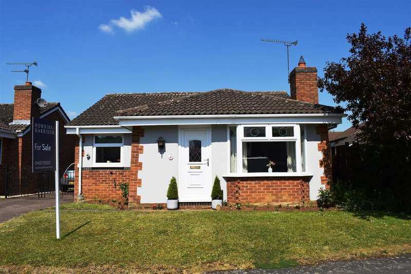 2 Bedrooms Bungalow for sale in Cunningham Drive, Lutterworth