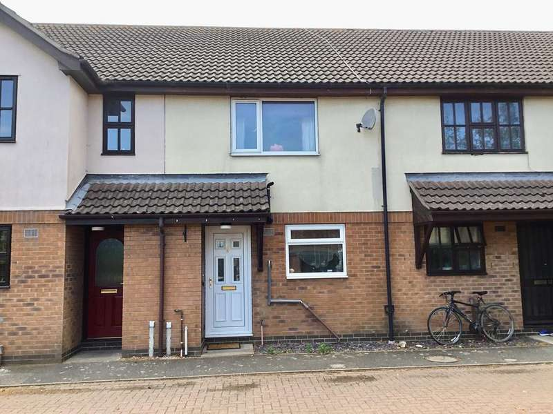 2 Bedrooms Terraced House for sale in Charlotte Walk, Quadring, PE11