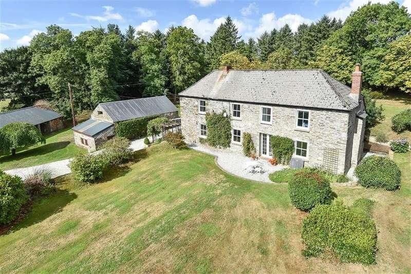 5 Bedrooms Detached House for sale in St Keyne, Liskeard, Cornwall, PL14