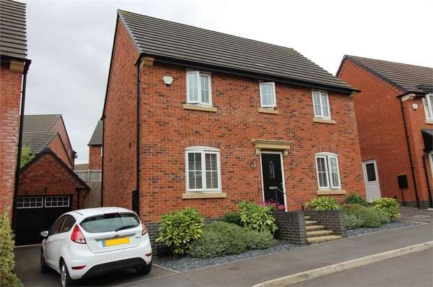 4 Bedrooms Detached House for sale in David Hobbs Rise, Market Harborough, Leicestershire