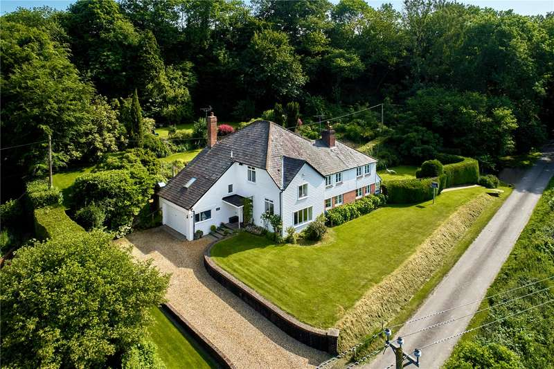 5 Bedrooms Detached House for sale in Quebec, West Harting, Petersfield, Hampshire, GU31
