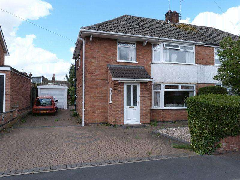 3 Bedrooms Semi Detached House for sale in St Pauls Drive, Syston