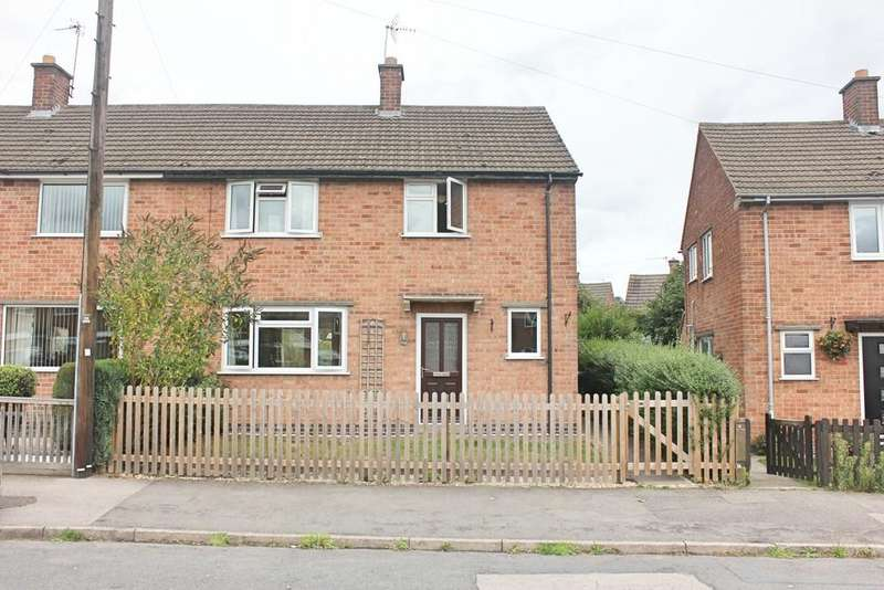 3 Bedrooms Semi Detached House for sale in Willow Street, Desford, Leicester