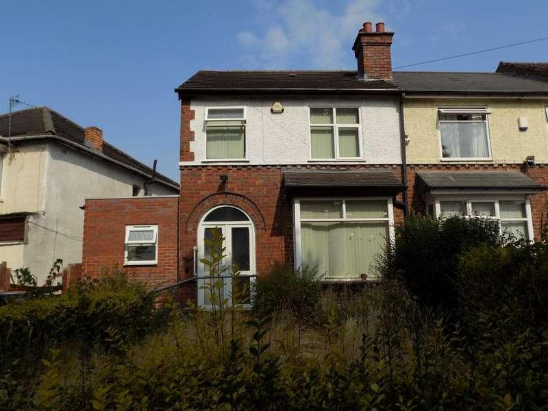 3 Bedrooms End Of Terrace House for sale in Alum Rock Road, Alum Rock, Birmingham B8