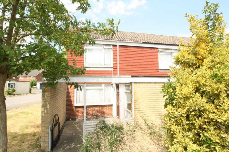 2 Bedrooms End Of Terrace House for sale in Langdale Gardens, Earley