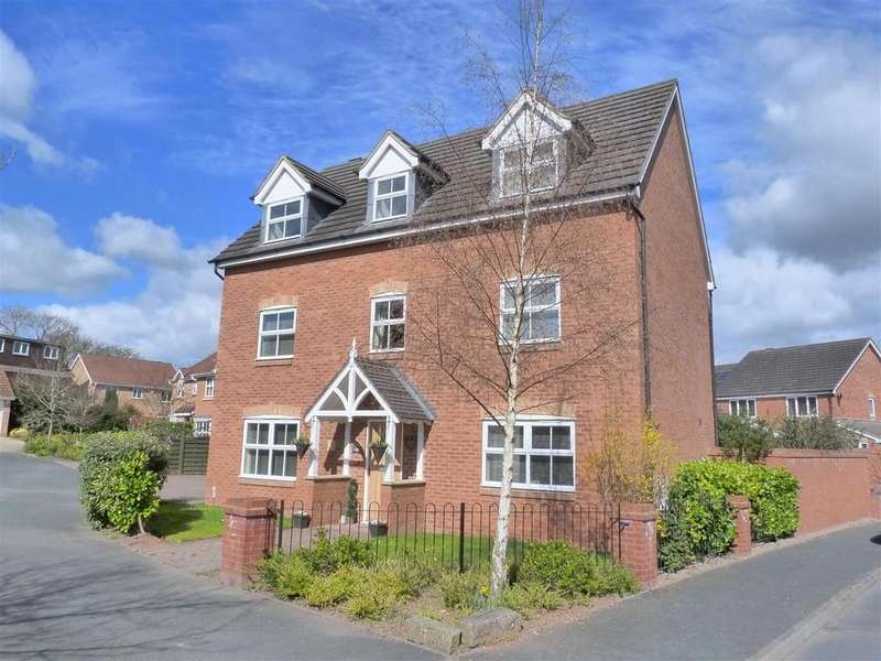 5 Bedrooms Detached House for sale in Dorchester Way, Belmont, Hereford, HR2