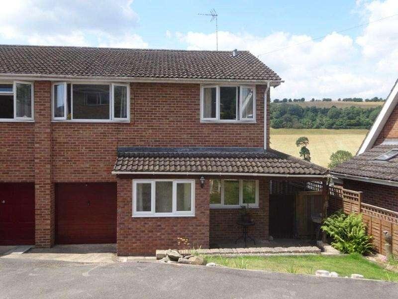 4 Bedrooms Semi Detached House for sale in Dean Crescent, Littledean, Cinderford
