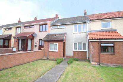 2 Bedrooms Terraced House for sale in Manuel Terrace, Dreghorn, Irvine, North Ayrshire