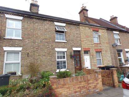 2 Bedrooms Terraced House for sale in Mabel Road, Bedford, Bedfordshire