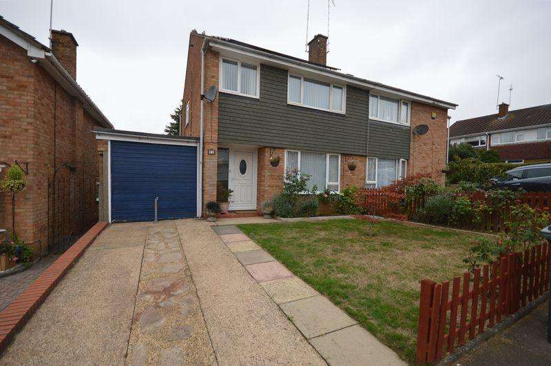 3 Bedrooms Semi Detached House for sale in Boxted Close, Luton