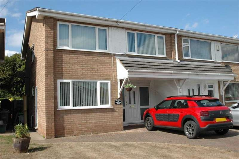 4 Bedrooms Semi Detached House for sale in Craithie Road, Vicars Cross, Chester