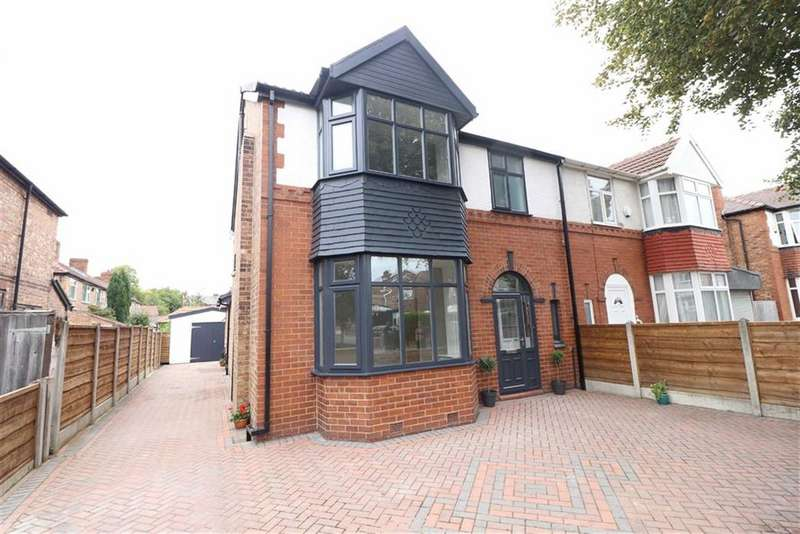 5 Bedrooms Semi Detached House for sale in Stratton Road, Whalley Range, Manchester, M16