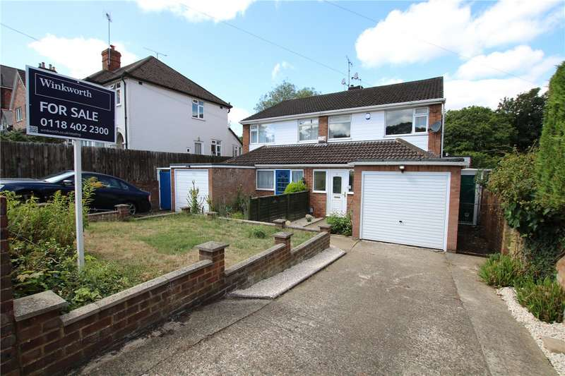 3 Bedrooms Semi Detached House for sale in Brunswick Hill, Reading, Berkshire, RG1