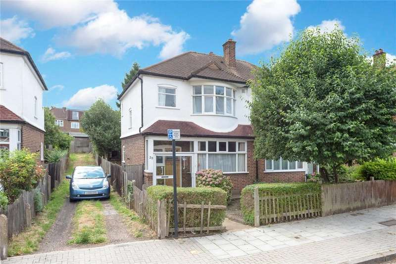 3 Bedrooms Semi Detached House for sale in Eylewood Road, London, SE27