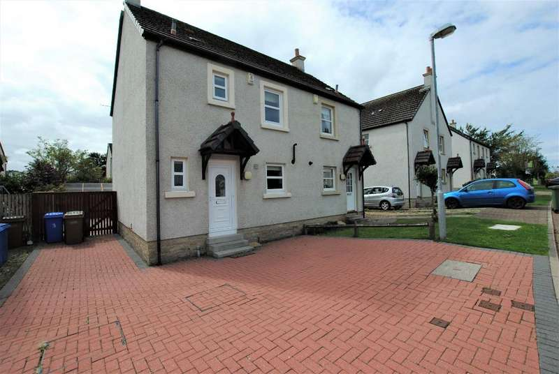 3 Bedrooms Semi Detached House for sale in Castle Square, Ayr, South Ayrshire, KA7 4JN