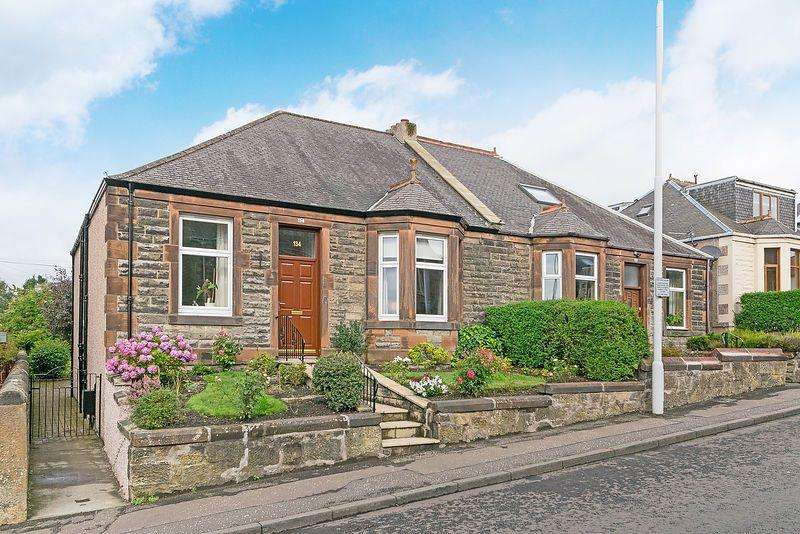3 Bedrooms Semi Detached House for sale in 134 Townhill Road, Dunfermline, KY12 0BP