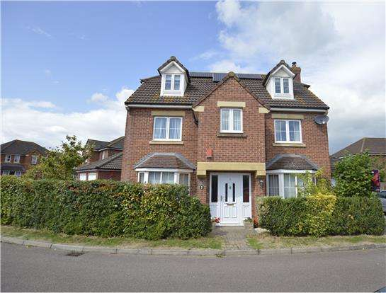 5 Bedrooms Detached House for sale in Homestead Close, Frampton Cotterell BS36 2FB