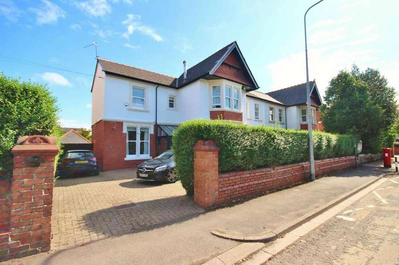 4 Bedrooms Semi Detached House for sale in Church Road, Whitchurch, Cardiff