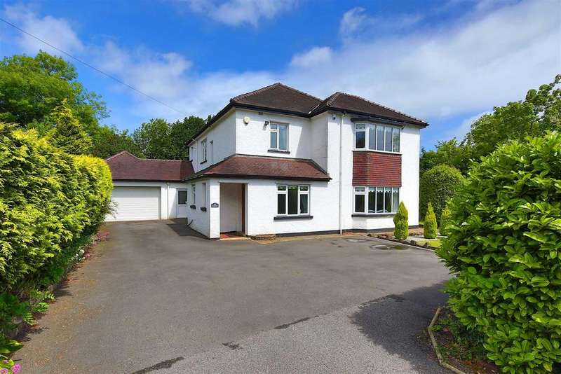 5 Bedrooms Detached House for sale in Hollybush Road, Cardiff
