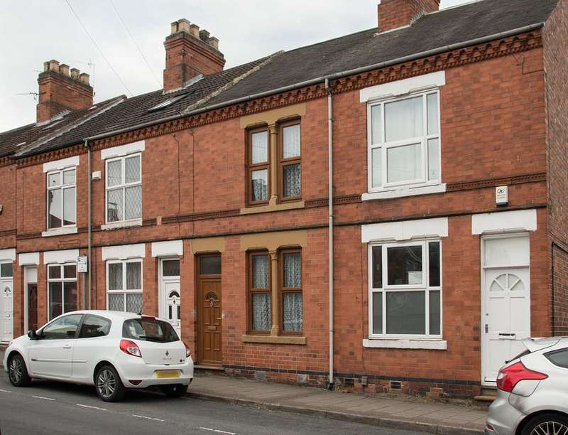 2 Bedrooms Terraced House for sale in Oxford Street, Loughborough