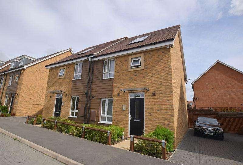 3 Bedrooms Semi Detached House for sale in Twiselton Heath, Wolverton, Milton Keynes