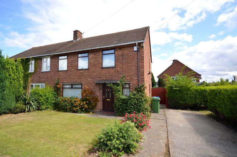3 Bedrooms Semi Detached House for sale in Blandford Drive, Newbold, Chesterfield, S41