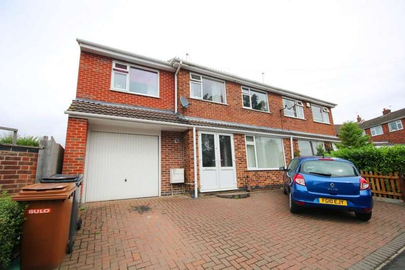 4 Bedrooms Semi Detached House for sale in Valley Road, Melton Mowbray