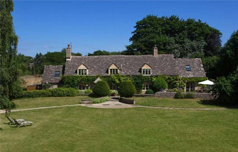 5 Bedrooms Detached House for sale in Kelmscott, Lechlade, Oxfordshire, GL7