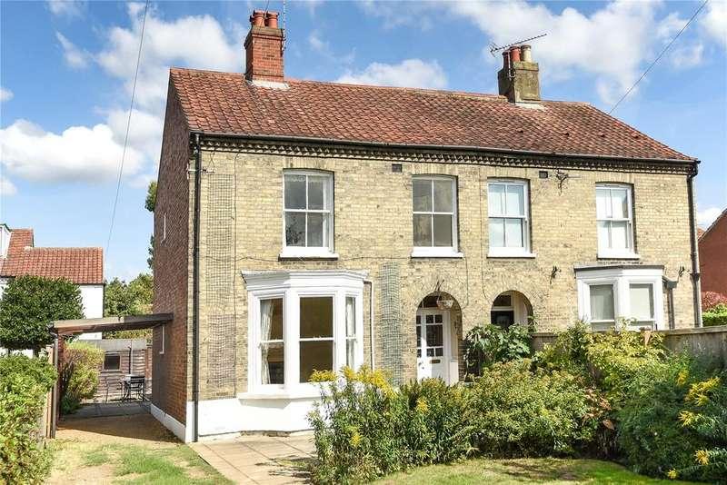4 Bedrooms Semi Detached House for sale in Arlington Lane, Norwich, Norfolk