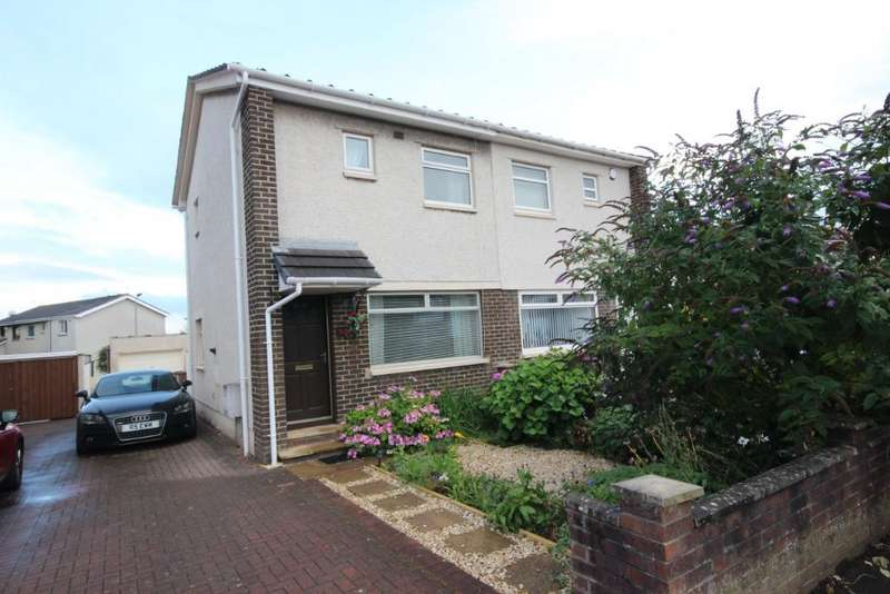 2 Bedrooms Semi Detached House for sale in Mill Road, Irvine, North Ayrshire, KA12 0JW