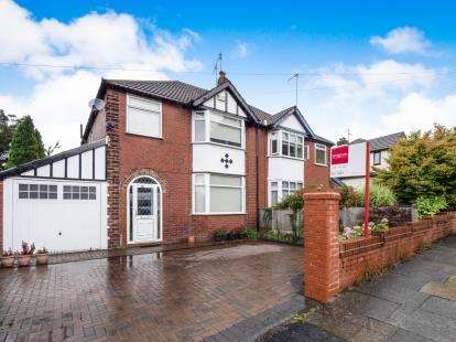 3 Bedrooms Semi Detached House for sale in Butterstile Lane, Prestwich, Manchester, Greater Manchester