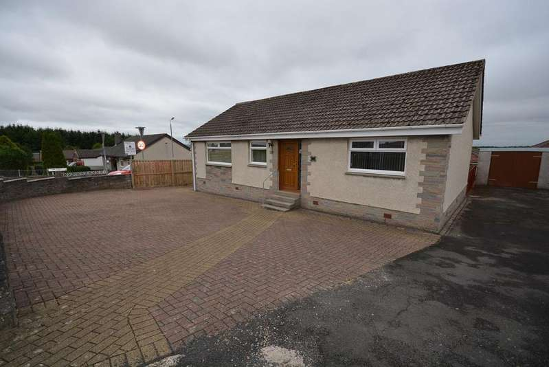 2 Bedrooms Detached Bungalow for sale in Arran Drive, Auchinleck, Cumnock, KA18