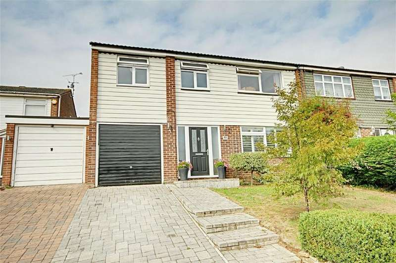 4 Bedrooms Semi Detached House for sale in The Crest, Sawbridgeworth, Hertfordshire