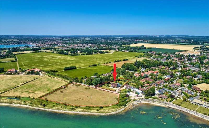 5 Bedrooms Detached House for sale in Prinsted Lane, Prinsted, Emsworth, Hampshire
