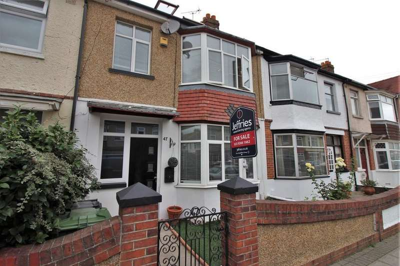 4 Bedrooms Terraced House for sale in Westwood Road, Hilsea