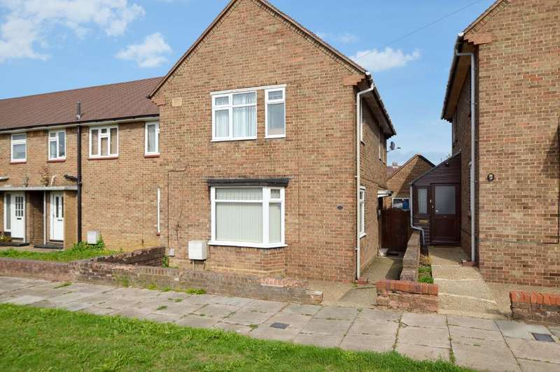 3 Bedrooms End Of Terrace House for sale in Abbots Wood Road, Round Green, Luton, LU2 0LS