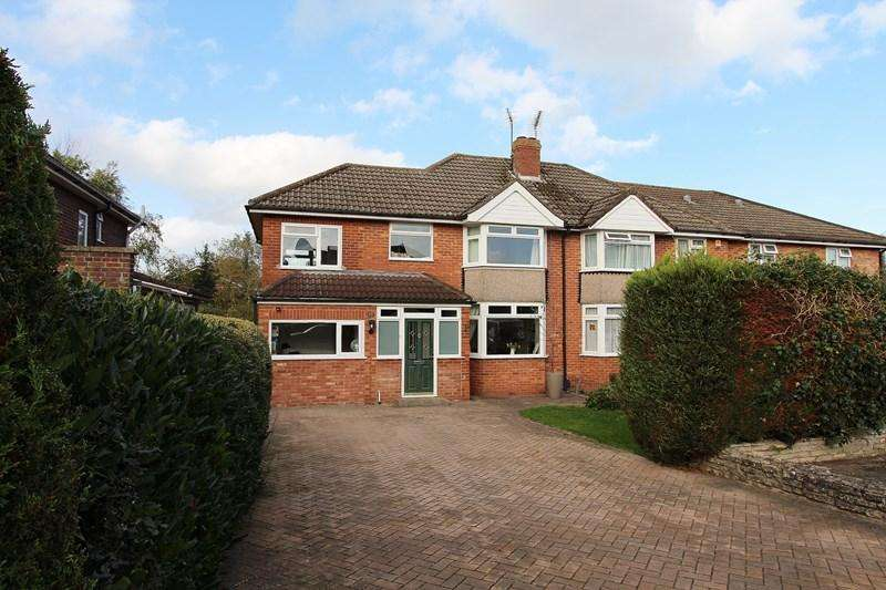 4 Bedrooms Semi Detached House for sale in Lambourn Road, Keynsham, Bristol