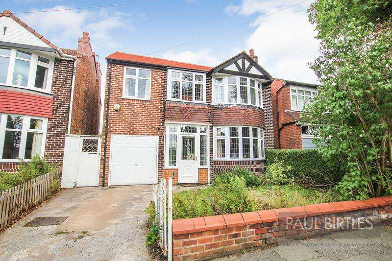 4 Bedrooms Detached House for sale in Ambleside Road, Flixton, Manchester