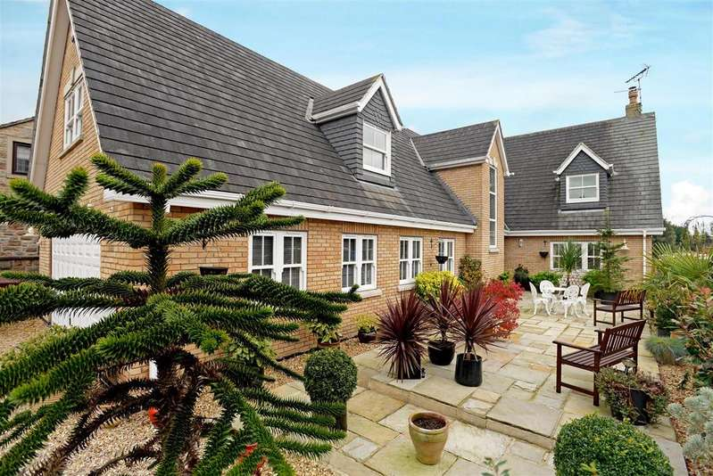 4 Bedrooms Detached House for sale in Hilcote Lane, Hilcote, Alfreton, Derbyshire