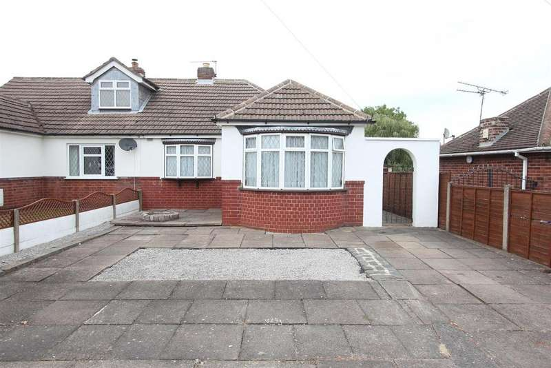 2 Bedrooms Semi Detached Bungalow for sale in Heath Lane, Earl Shilton
