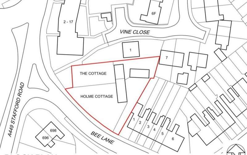Land Commercial for sale in Bee Lane, Wolverhampton WV10 6LD