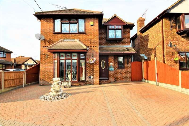 4 Bedrooms Detached House for sale in Holbek Road, CANVEY ISLAND, Essex