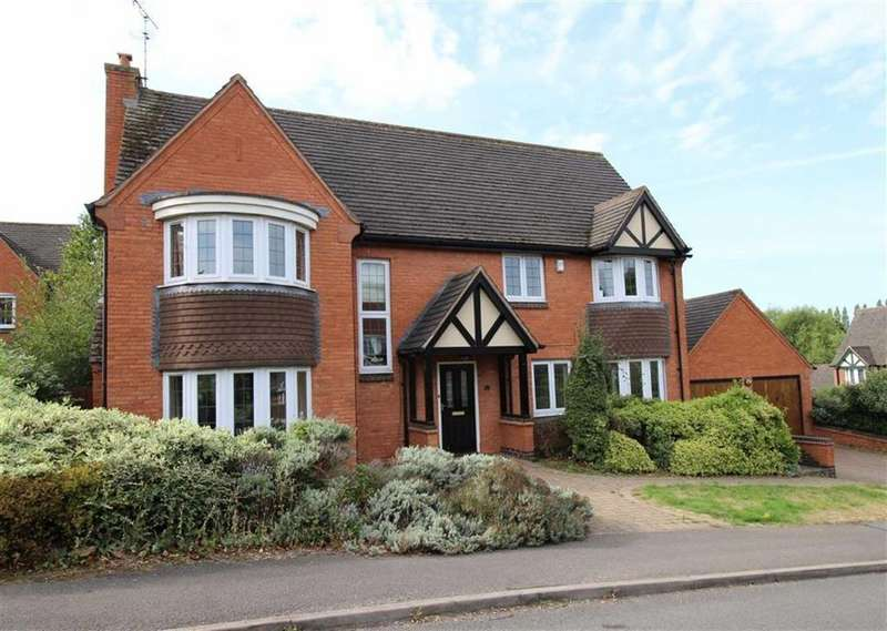 4 Bedrooms Detached House for sale in Coppicewood Drive, Littleover, Derby