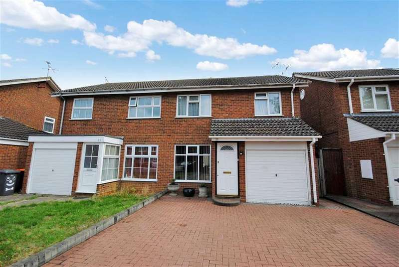 3 Bedrooms Semi Detached House for sale in Aquila Road, Leighton Buzzard