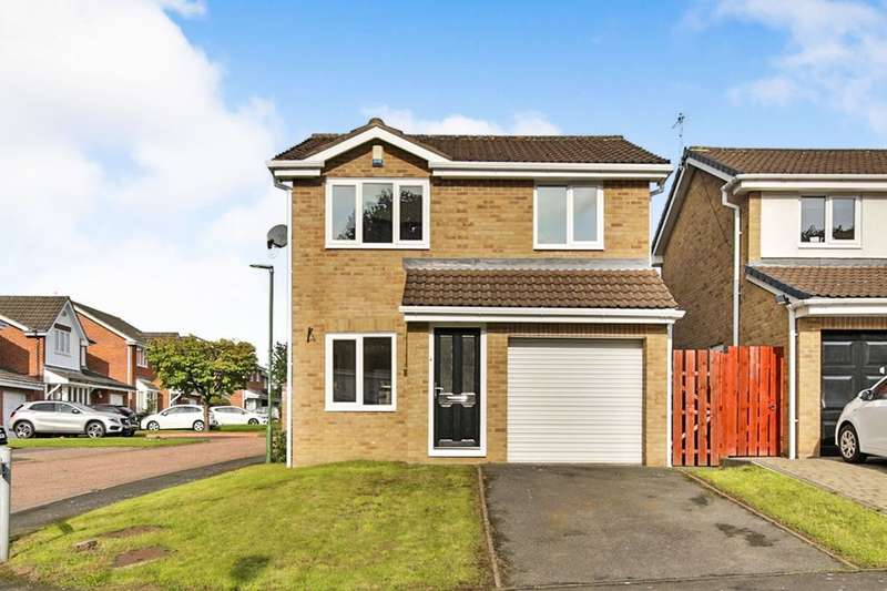 3 Bedrooms Detached House for sale in Warkworth Drive, Chester Le Street, DH2