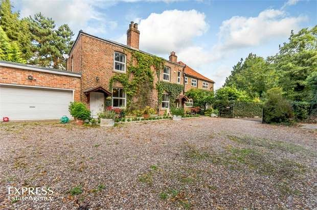 8 Bedrooms Detached House for sale in Hirst Road, Chapel Haddlesey, Selby, North Yorkshire