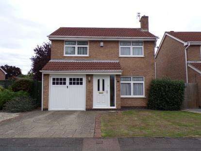 4 Bedrooms Detached House for sale in Wolsey Close, Leicester Forest East, Leicester, Leicestershire