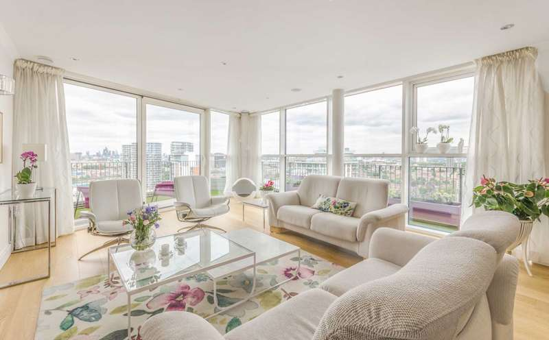 2 Bedrooms Flat for sale in Coral Apartments, Royal Docks, E16