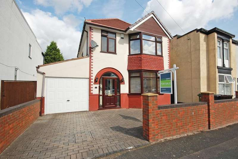 3 Bedrooms Detached House for sale in ARGYLE ROAD, Goldthorn Hill, Wolverhampton WV2
